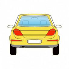 HONDA ACCORD 4Д СД 2002-2008 СТЕКЛО ЗАДНЕЕ Зеленое+АНТ   6996466