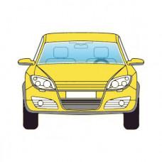 AUDI A3 3D 2012-СТЕКЛО ЛОБОВОЕ Зелено-серое+АКУСТ+КАМ+Датчик дождя+VIN+Доп. оборуд.+Инкапсулированное | 4032207