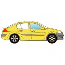 BMW 1 SERIES СД ХБ 2004- СТЕКЛО ПЕРЕДНЕЙ ДВЕРИ ОПУСКНОЕ ПРАВОЕ Зеленое | 6993861