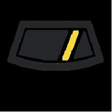 Стекло Боковое кузовное плоское, Прозрачное, Внедорожник 3-дв. - XINYI на ВАЗ 2121/21213/21214 (1976-) | 4501FCLR3FQ-XI